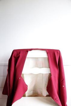 Kimono Jacket Japanese Vintage Shibori Fuchsia by CJSTonbo on Etsy