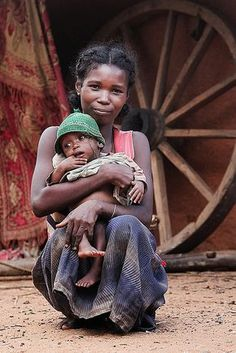 Madagascar Mother and Child