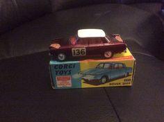Rover 2000 corgi toys