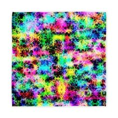cheerful colors Cloth Napkins > abstract/colorful/fractal > MehrFarbeimLeben