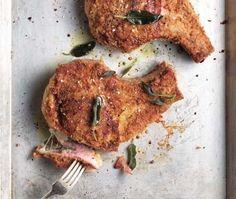 Recette : côtelettes de porc panées