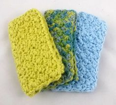 Organic baby washcloth / baby boy / party favors / by PrairieLoops $12