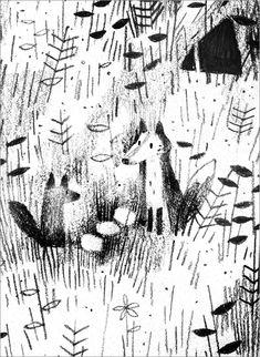 "Jon Klassen, ""Pax - Forest"", detail <3"