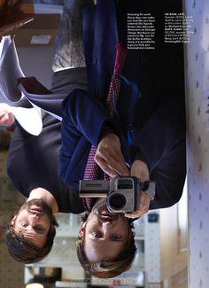 Male Fashion Trends: Matt y Ross Duffer por Christian Anwander para Esquire USA
