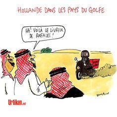 Hollande : un VRP normal - Dessin du jour - Urtikan.net