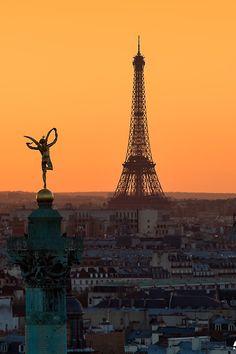 Sunrise from Bastille