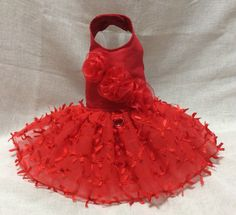 A personal favorite from my Etsy shop https://www.etsy.com/listing/254180728/red-bows-dog-dress