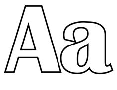 Classic Letter A coloring page from Classic English Alphabet category. Select from 26690 printable crafts of cartoons, nature, animals, Bible and many more.