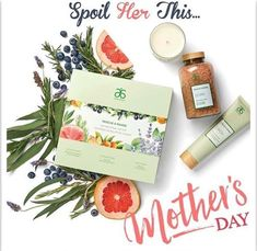 What #mom wouldnt want to be spoiled with this luscious #spa #gift set? #mothersday #relax #spoilyourmom #Arbonne
