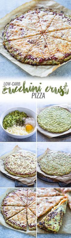 Finally, a tasty crispy low-carb zucchini crust pizza that is sure to satisfy your pizza cravings with out all the added carbs! I've shared a series of low-carb pizza recipes over the years u…
