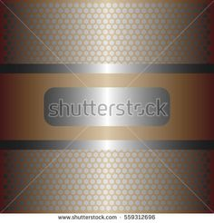 shiny silver metal with silver background.shiny gold style.gold plate with hexagon holes style design