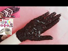 In this video i am using cello tape and bindi to make beautiful mehendi design on hand for beginners and for filling i am using instant red mehendi to get qu. Beauty Hacks Lips, Bindi, Mehendi, Youtube, Tape, Red, Beautiful, Design, Ribbon