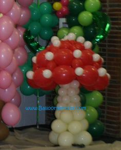 Doesn't look like the cold war to me! Balloon Glow, Bubble Balloons, Love Balloon, Balloon Shapes, Balloon Columns, Balloon Arch, Balloon Decorations Party, Balloon Centerpieces, Party Decoration