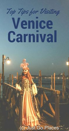 Tips For Having The Best Experience at Carnival in Venice, including what to do, where to get your costumes and events the children can participate in #italyplanning