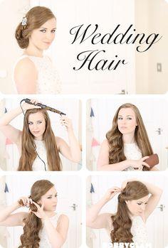 Wedding Hair Tutorial | bobbyglam  #hair #tutorial