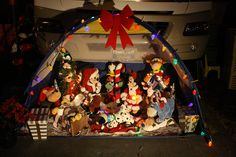 Christmas In July Camping Decorations.15 Best Camping Campsite Holiday Decorating Images