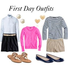 af96352da First Day Outfits First Day Of School Outfit, Outfit Of The Day, School  Outfits