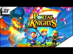 awesome Portal Knights -  HORSESHOE HOLDOUT PORTAL! Portal Knights Gameplay Ep 2