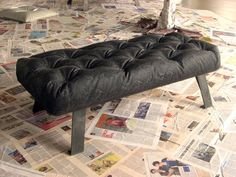 OBSESSED with this. Made from concrete!