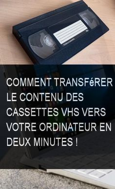 How to transfer the contents of VHS tapes to your computer in two minutes Cleaning Screens, House Cleaning Tips, Cleaning Hacks, Cassette Vhs, Vhs Tapes, Multimedia, Disinfecting Wipes, Futuristic Technology, Technology Design
