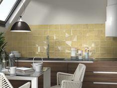 Lemon wall tiles suitable to use as splashback tiles for your kitchen or bathroom. Click here to order FREE SAMPLES. Splashback Tiles, New Builds, Porcelain Tile, Wall Tiles, Hardwood, Sink, Kitchen, Table, Free Samples
