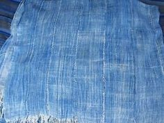 Burkina Faso Vintage Indigo Textiles Fabric Africa Hand Made in Textiles 6ft | eBay