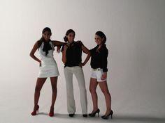 Photoshoot de las 3 finalistas de Chica E! Colombia 2012.