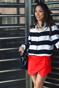 Giuliana Rancic wore this skort from Zara on WWHL last night. So cute! | the view from 5 ft. 2