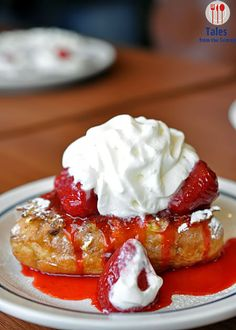 IHOP's Stuffed French Toast    http://www.talesfromthetummy.com/ihop-philippines-opens-in-bgc-the-fort/