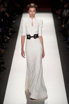 Striking simplicity.  Carolina Herrera Runway | Fashion Week Fall 2013 Photos