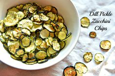 You'll become addicted to these zucchini chips that may take awhile to make but trust us...it's worth the wait.