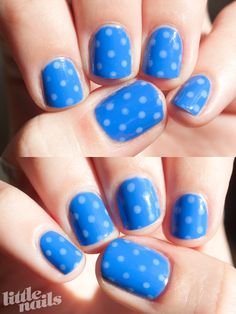 Polka dot nails nails nail nail art polka dot polka dot nails nail designs nail art for kids kid nail designs kids nails
