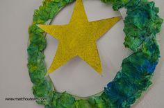 Couronne de Noël |    Une couronne pour décorer la porte