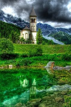 """St. Gertrud, Italian Alps. Please note that most photos on this board are taken from """"Trust me I'm a Traveller""""."""