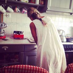 Mammy's cute kitchen #rustic