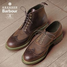 Grenson x Barbour Footwear Now Available #DiffusionPictures