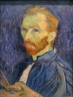 Van Gogh. Self portrait, 1889. National Gallery