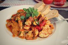 Vatovec s dusenou zeleninou Kung Pao Chicken, Ale, Meat, Ethnic Recipes, Food, Beef, Meal, Ale Beer, Essen