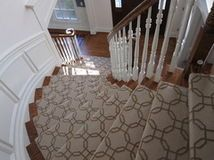 geometric stair runner want this in my dream home