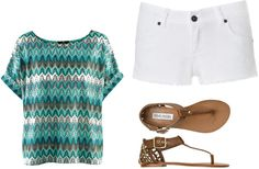 beach wear, created by krfish on Polyvore