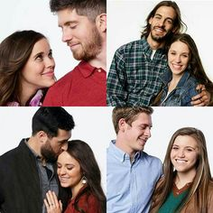 The Duggar daughters and sons-in-law/fpotential future son-in-law <3