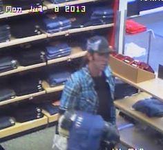 Shoplifter Slices Sears Employee