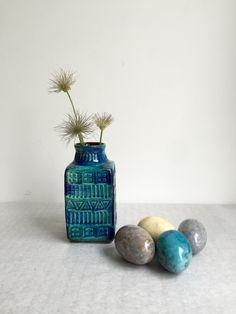 Vintage Vasen, Set Keramik Marmor, Marmor Mid Century, Westdeutsche Vase, Bay Keramik 7025, ähnlich Bitossi, Bodo Mans für Bay, von moovi auf Etsy