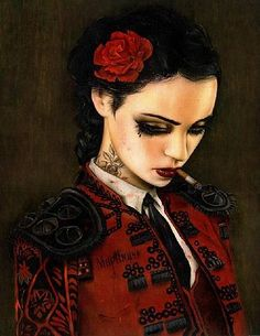 Bull Fight Her by Brian Viveros