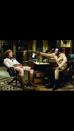 These are The two main characters played by cleaving Little (May he rest in peace) and Gene Wilder.