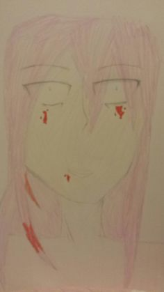 Really blurry picture of yandere Luka Megurine
