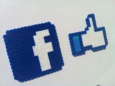 Facebook Perler Pack wall art or magnets $2 by OutoftheParkArt