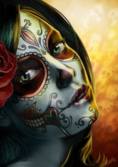 Day of the Dead by LawrenceMann on DeviantArt
