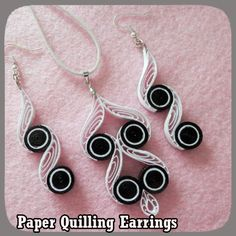 Image result for arrecades quilling