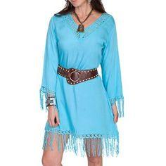 Scully Women's Crochet Fringe Dress